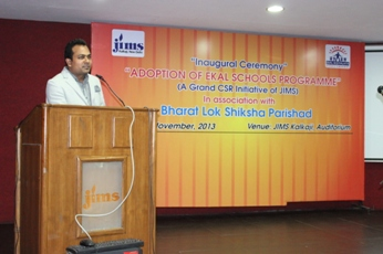 Top Management College JIMS Kalkaji Joins hands with Ekal Foundation